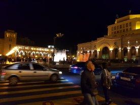 Street heading to Republic Square