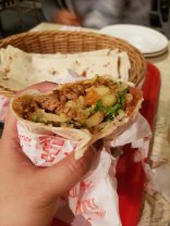 This is the best pork shawarma I ever had. My tour guide said this is just 8.50AMD or 7 AED!