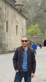 Hayk, our Armenian driver and friend of Johann