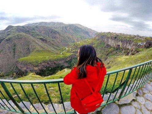 Overlooking Azat River